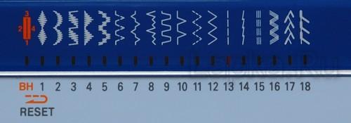 Строчки швейной машины Janome My Excel 18W