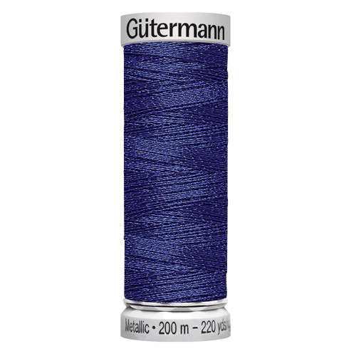 Нитки Gutermann Metallic №135 200м Цвет 7016