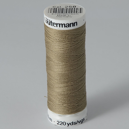 Нитки Gutermann SewAll №100 200м цвет 258