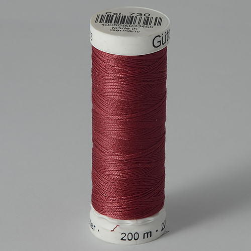 Нитки Gutermann SewAll №100 200м цвет 730