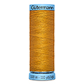 Нитки Gutermann Silk №100 100м Цвет 412