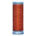 Нитки Gutermann Silk №100 100м Цвет 838