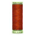 Нитки Gutermann Top Stitch №30 30м цвет 837
