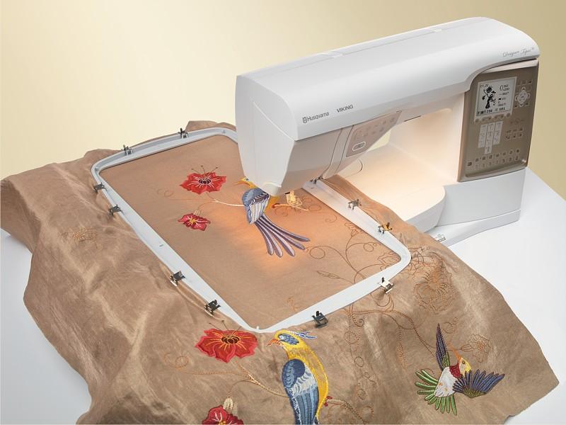 Как сделать вышивку машинную