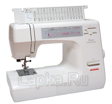Швейная машина janome decor excel 5024 (без чехла)