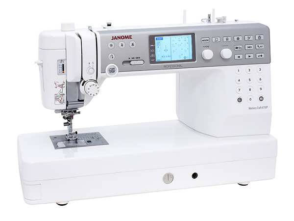Janome Memory Craft 6700P Professional Швейная машина с микропроцессорным управлением.