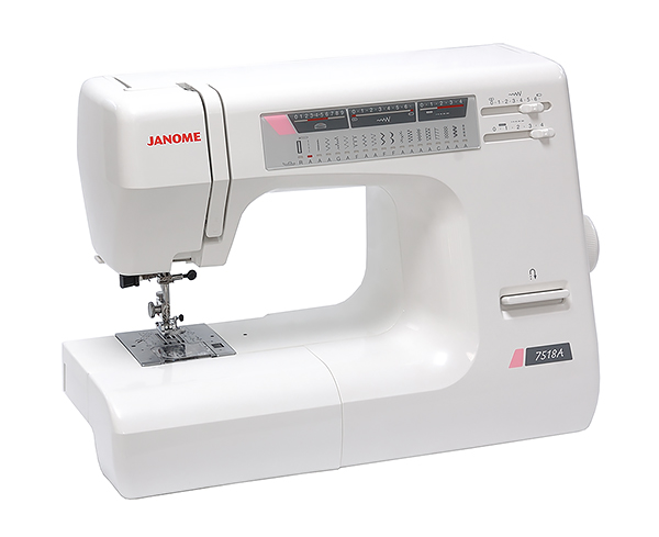 Janome 7518a for Decor excel 5018