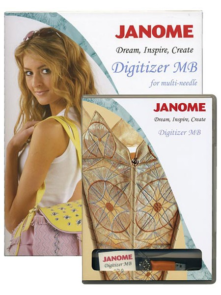 Janome Digitizer MB for multi-needle