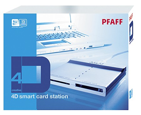 Pfaff 4D Smart Card Station и карта памяти Pfaff Creative Smart Card  Устройство перезаписи Pfaff Creative Smart Card и карта памяти.