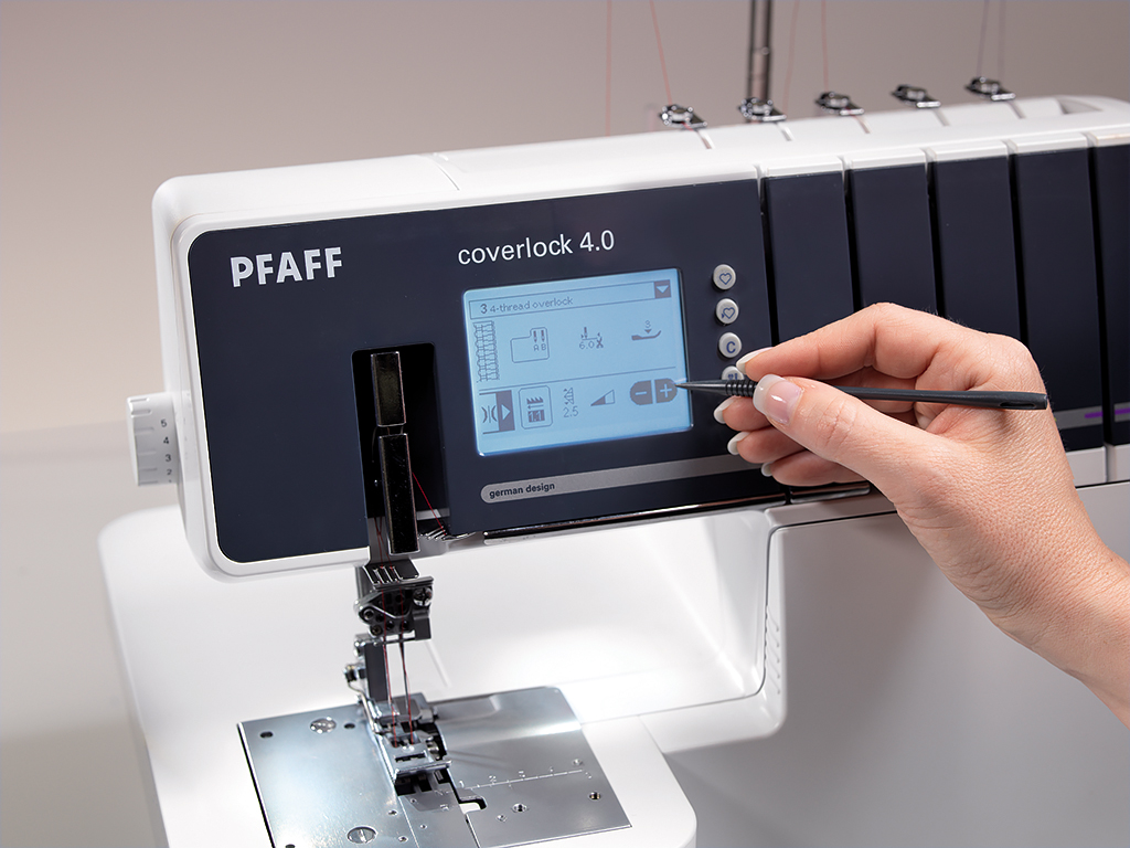 Pfaff Coverlock 4.0 инструкция img-1