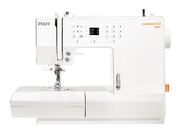 Pfaff Passport 3.0 Швейная машина с микропроцессорным управлением.