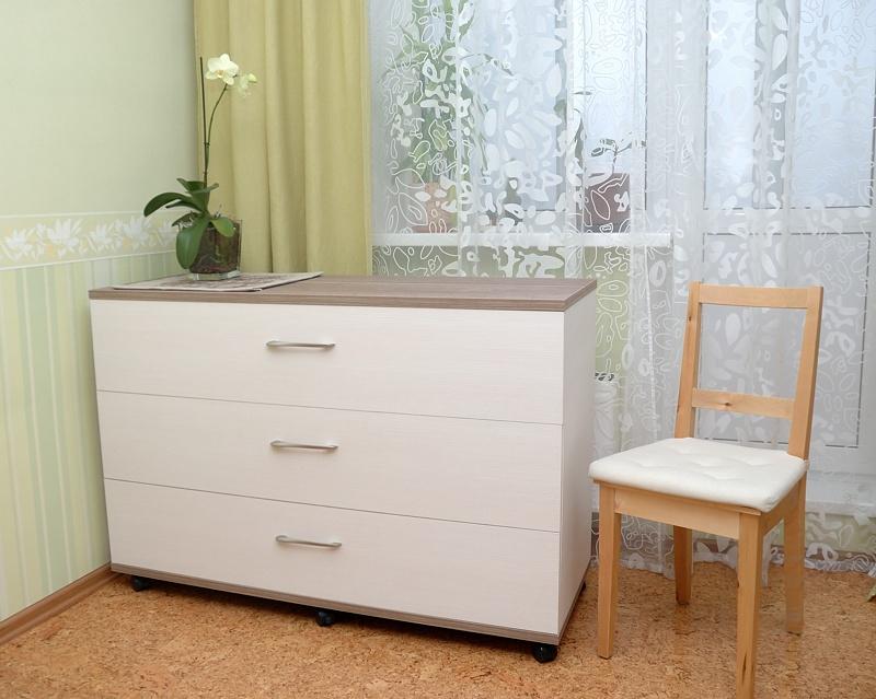"""Стол для вязальной машины цвет """"венге мали + вудлайн кремовы."""